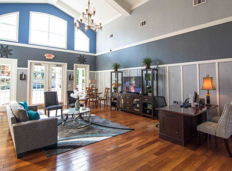Relaxing Clubhouse at Parkside Vista in Doraville, GA 30340