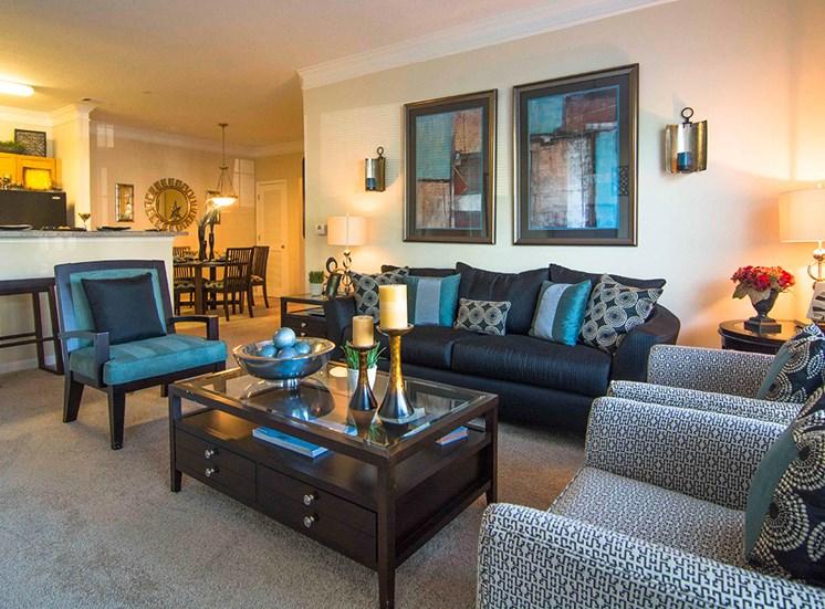 Spacious Living Room at Parkside Vista in Doraville, GA 30340