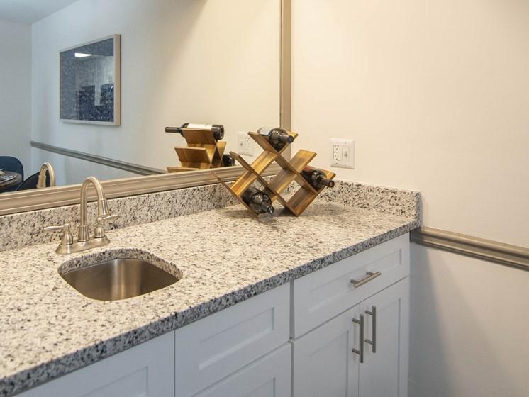 Bright Bathroom at Paces Ridge at Vinings, Atlanta, 30339