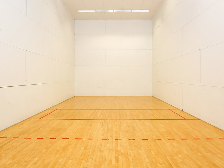 Racquetball Court at The Adelaide, Florida, 32821