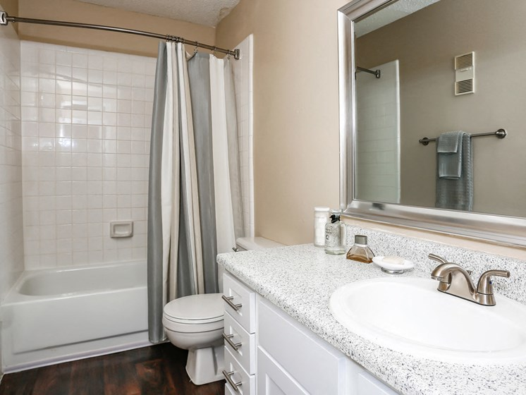 Soaking Tubs With Ceramic Tile at The Adelaide, Orlando, FL, 32821