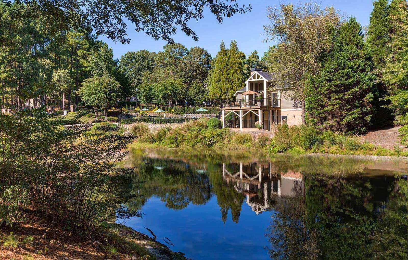 Serene Pond at 670 thornton, Lithia Springs, GA 30122