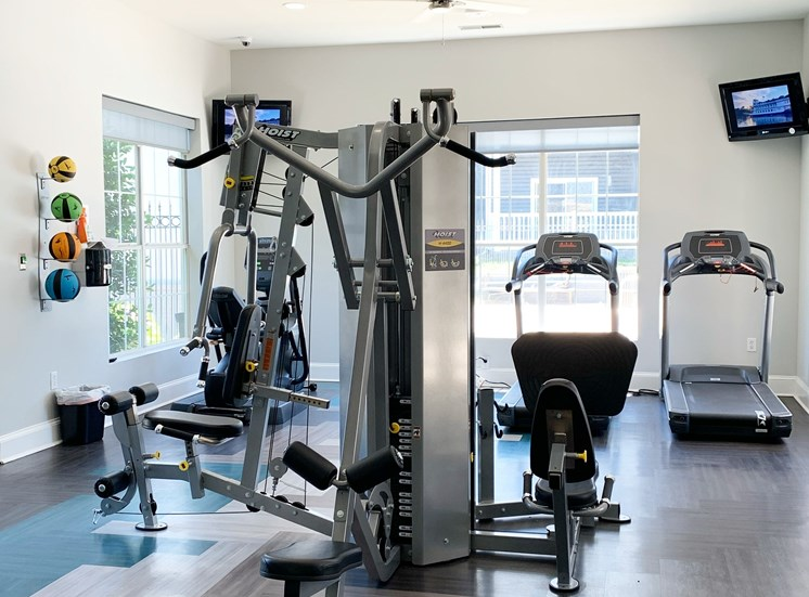 24/7 Fitness center at The Shallowford