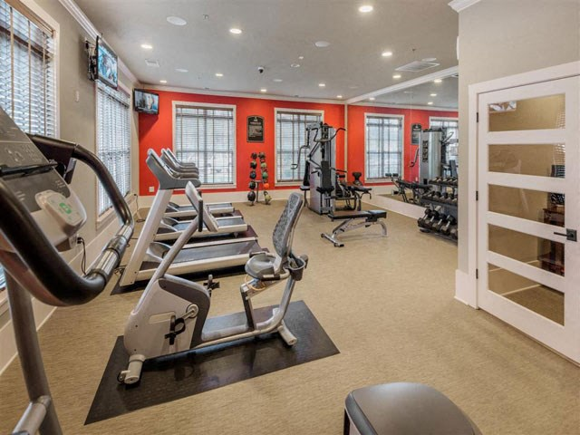 24 Hour Health and Fitness Club including TVs and Cardio and Weight Training at Ashby at Ross Bridge, Hoover, AL 35226