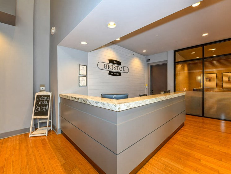 Leasing Desk at Bristol on Union, Tennessee, 38104