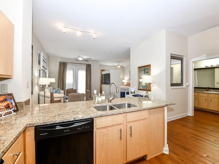 Interior-Kitchen at Bristol on Union, Memphis, TN, 38104