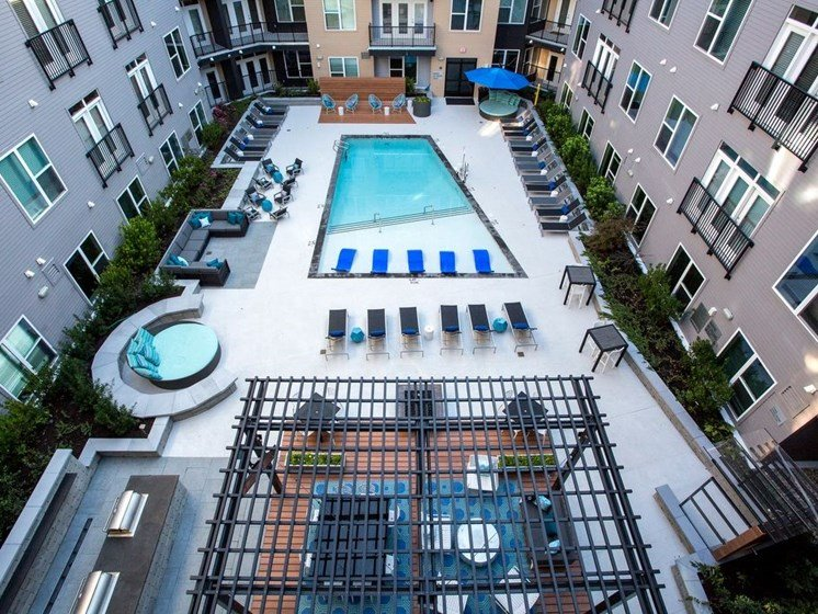 Outdoor Pool Dartmouth North Hills Raleigh NC