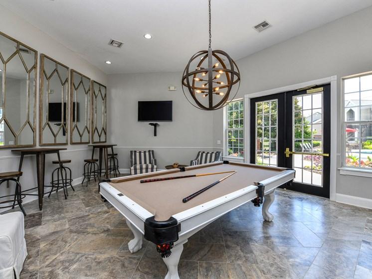 Billiards/Game Room at Polos at Hudson Corners, Greer, SC, 29650