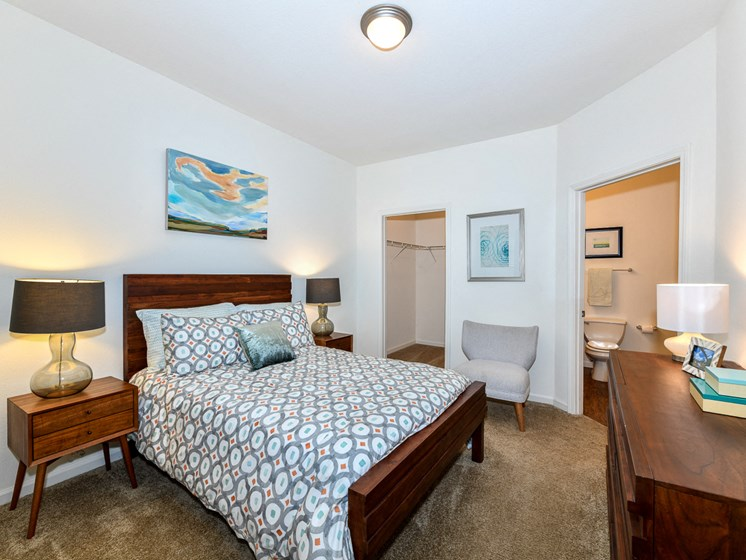 Well Appointed Bedroom at Polos at Hudson Corners, South Carolina, 29650