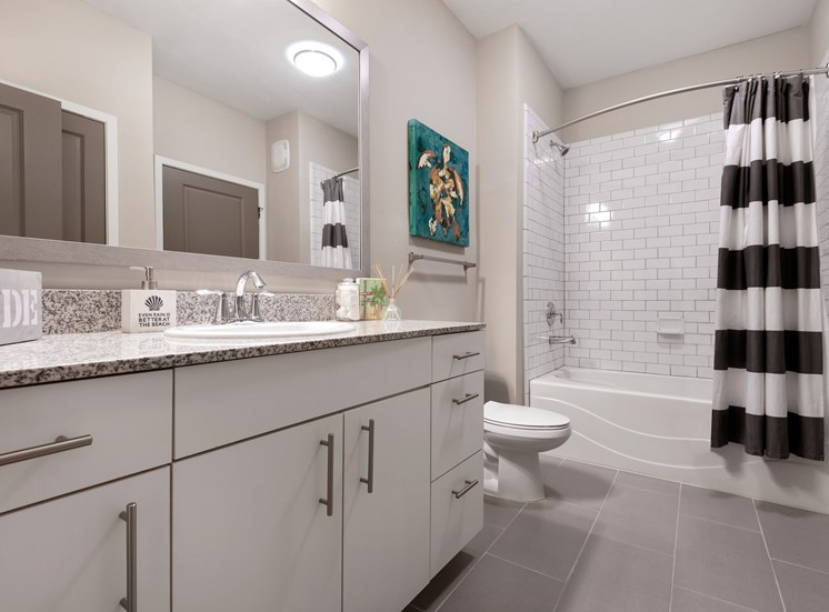 Spacious Bathrooms and Closest at Spyglass Seaside