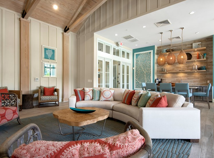 Resident lounge and Amenity Room at Spyglass Seaside