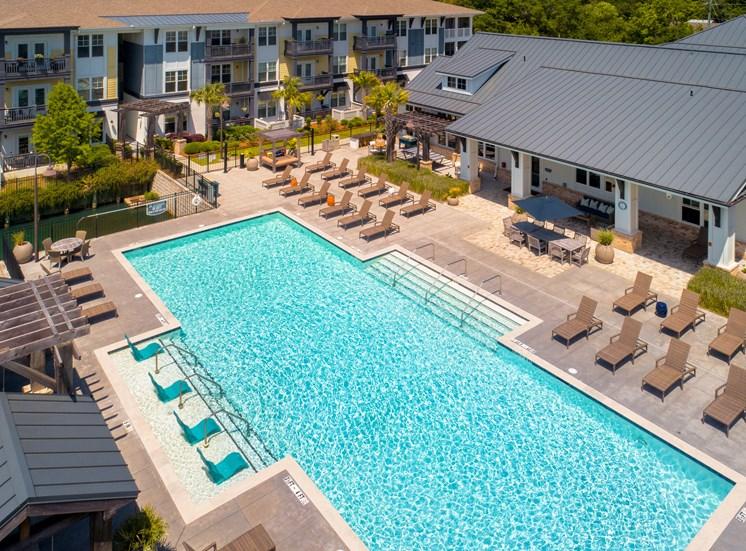 Resident Pool Areal View Spyglass Seaside