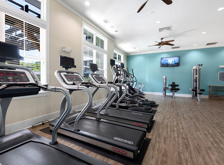 Fitness Center with Cardio at Spyglass Seaside