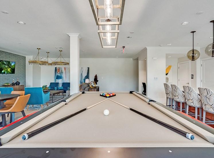 Mustang pool table