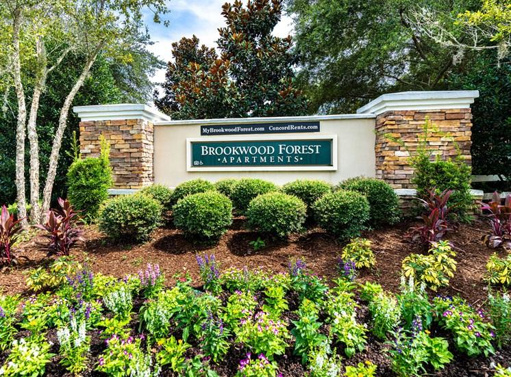 Brookwood Forest Sign