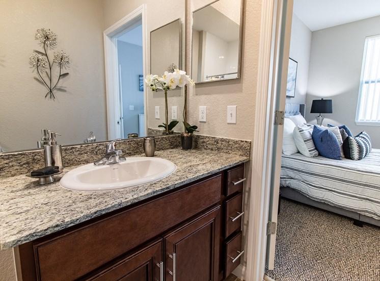 One Bedroom One Bathroom Master Bathroom