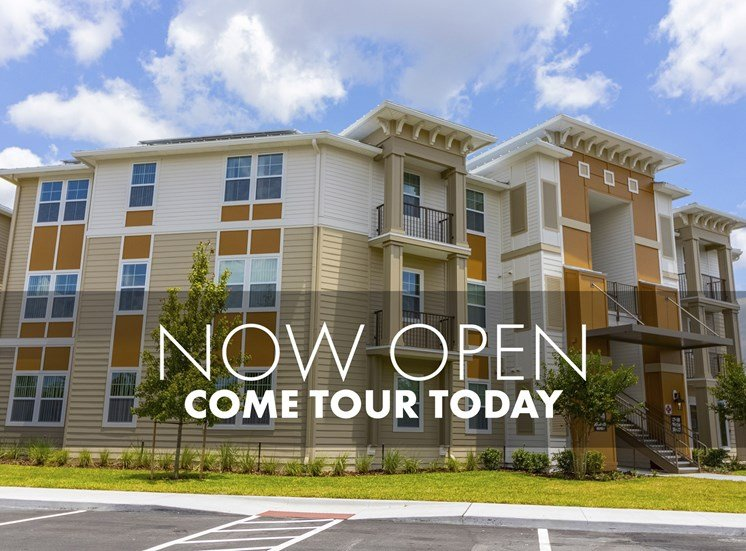 Now open, come tour today