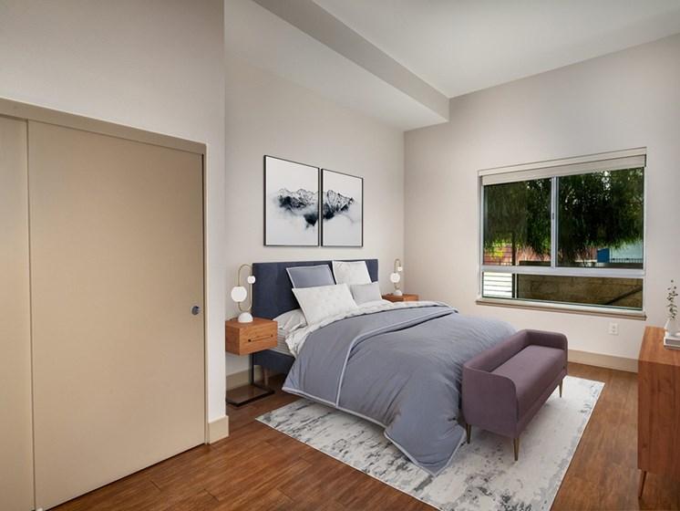 One Bedroom Primary Bedroom