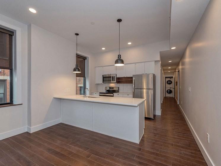 Kitchen area_Columbia Flats Apartments Cincinnati, OH