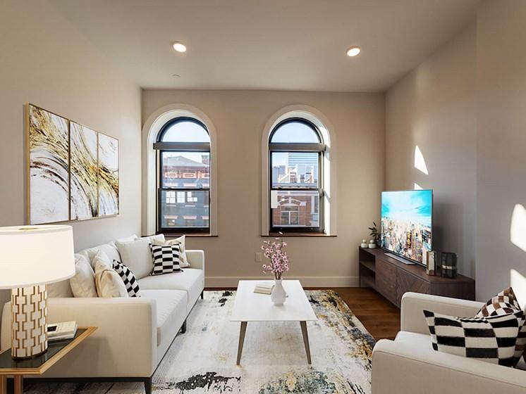 Furnished living room_Columbia Flats Apartments Cincinnati, OH