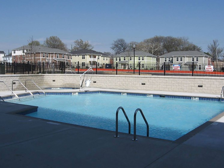 Outdoor pool-Quimby Plaza Apartments Memphis, TN