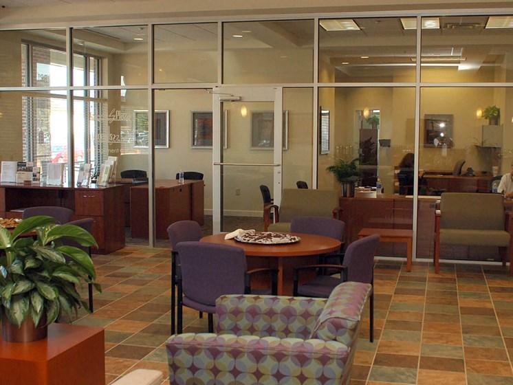 Community room interior-Quimby Plaza Apartments Memphis, TN