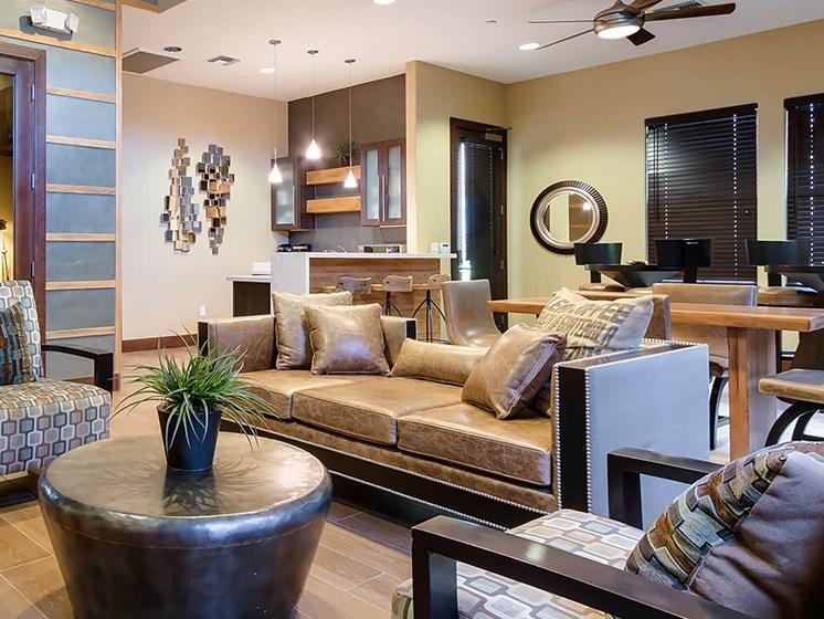 Clubhouse interior-The Symphony Apartments Phoenix, AZ