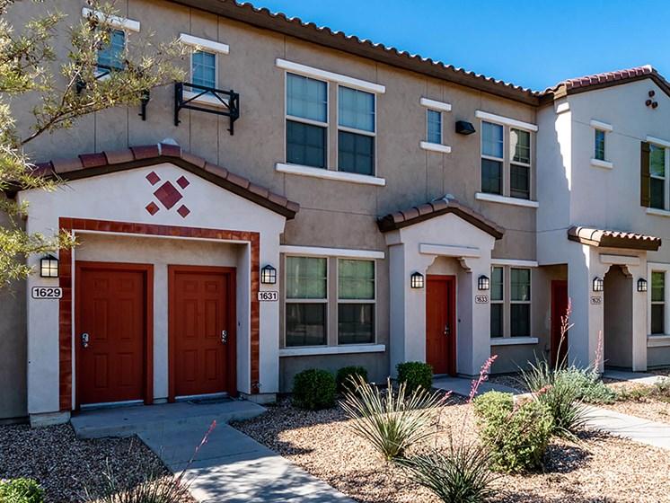 Apartment building exterior-The Symphony Apartments Phoenix, AZ