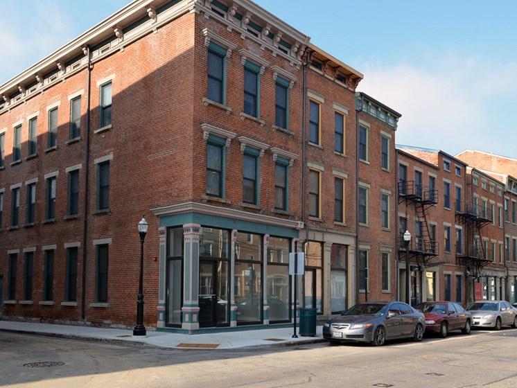 Street view-Mercer Commons Apartments Cincinnati, OH
