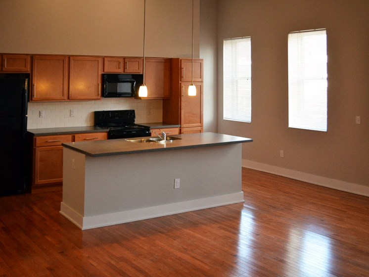 Kitchen area-Mercer Commons Apartments Cincinnati, OH