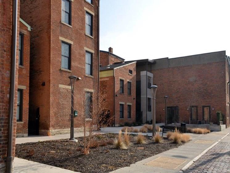 Apartment buildings-Mercer Commons Apartments Cincinnati, OH