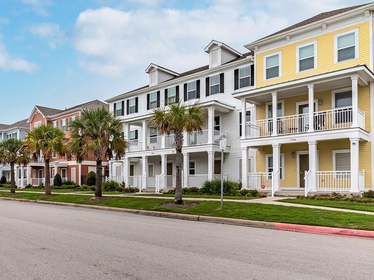 Street view-Villas on the Strand, Galveston, TX 77550