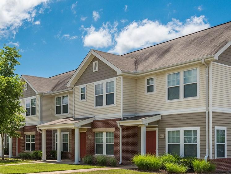 Apartment building exterior-Metropolitan Village and Cumberland Manor Apartments, Little Rock, AR
