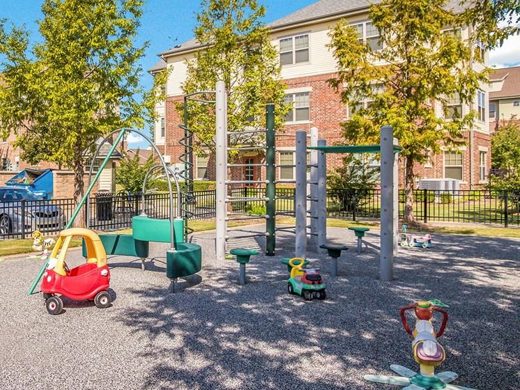 Playground area-Metropolitan Village and Cumberland Manor Apartments, Little Rock, AR