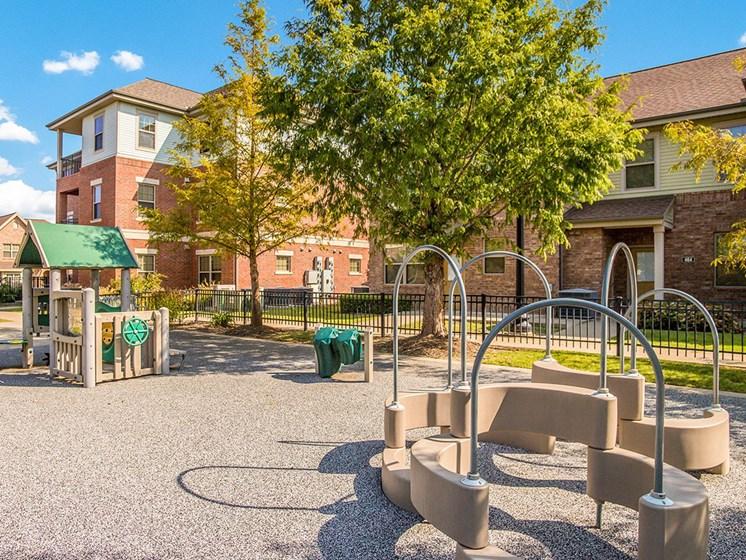 Playground-Metropolitan Village and Cumberland Manor Apartments, Little Rock, AR
