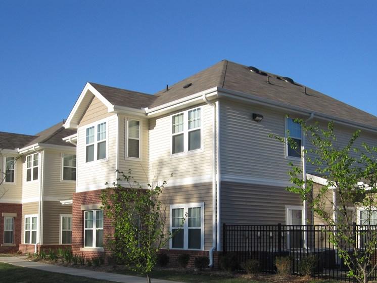 Exterior of apartment building-Metropolitan Village and Cumberland Manor Apartments, Little Rock, AR