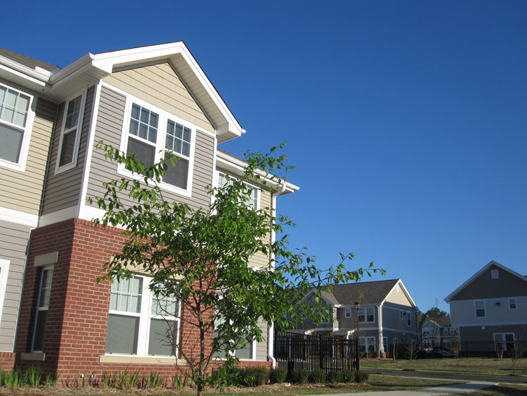 Exterior of building-Metropolitan Village and Cumberland Manor Apartments, Little Rock, AR
