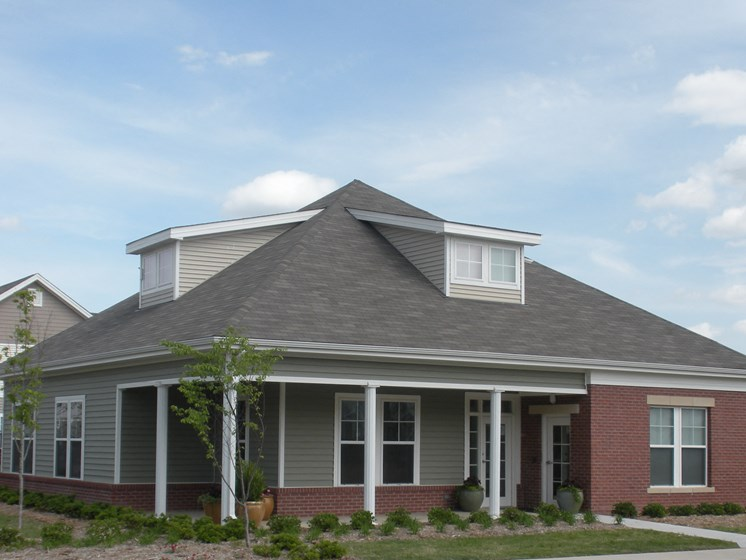 Exterior of Leasing Office-Metropolitan Village and Cumberland Manor Apartments, Little Rock, AR