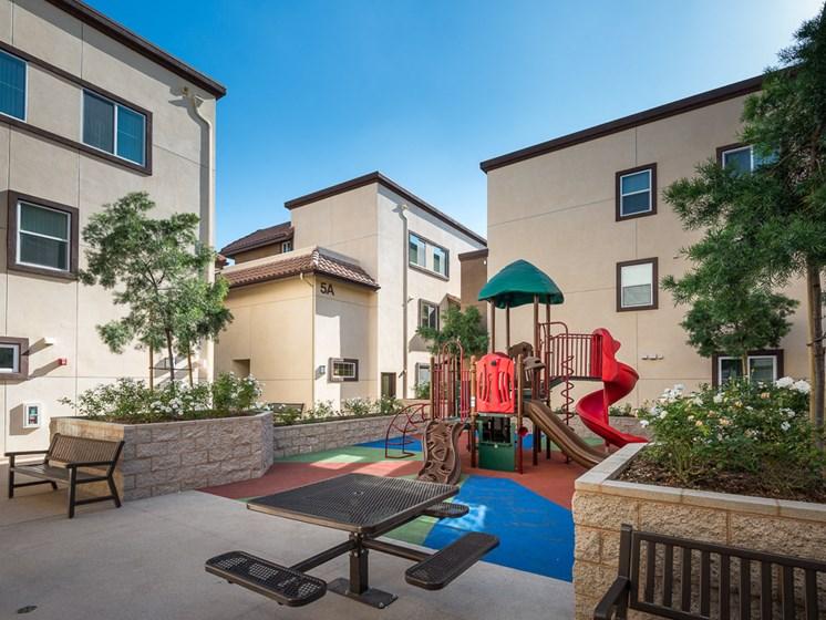 Playground-Rio Vista Apartments, Los Angeles, CA
