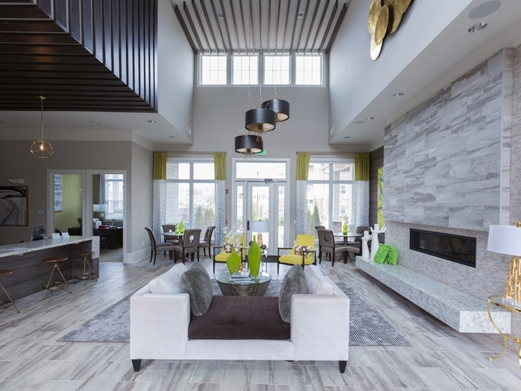 Clubhouse at York Woods at Lake Murray Apartment Homes, Columbia, SC, 29212