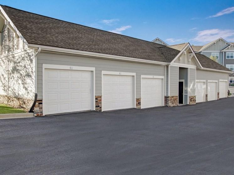 Garages at York Woods at Lake Murray Apartment Homes, Columbia, SC