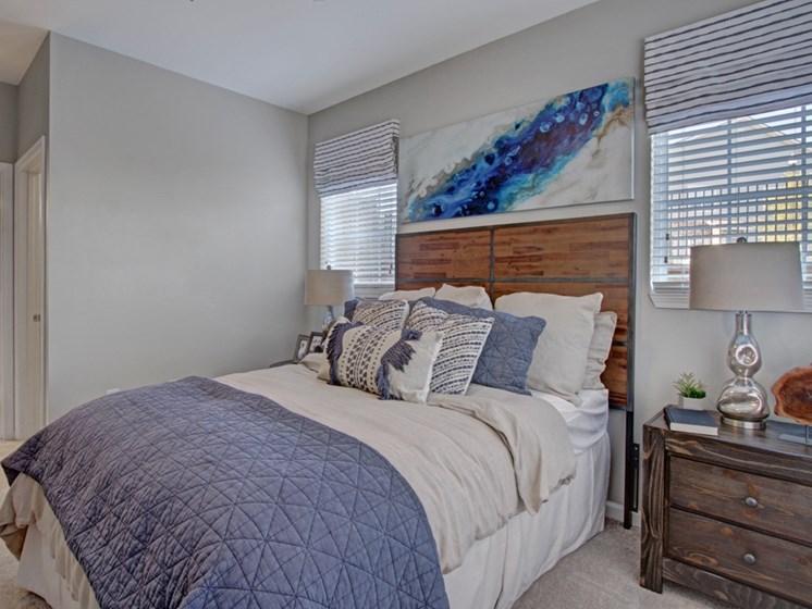 Bedroom at York Woods at Lake Murray Apartment Homes, Columbia, SC