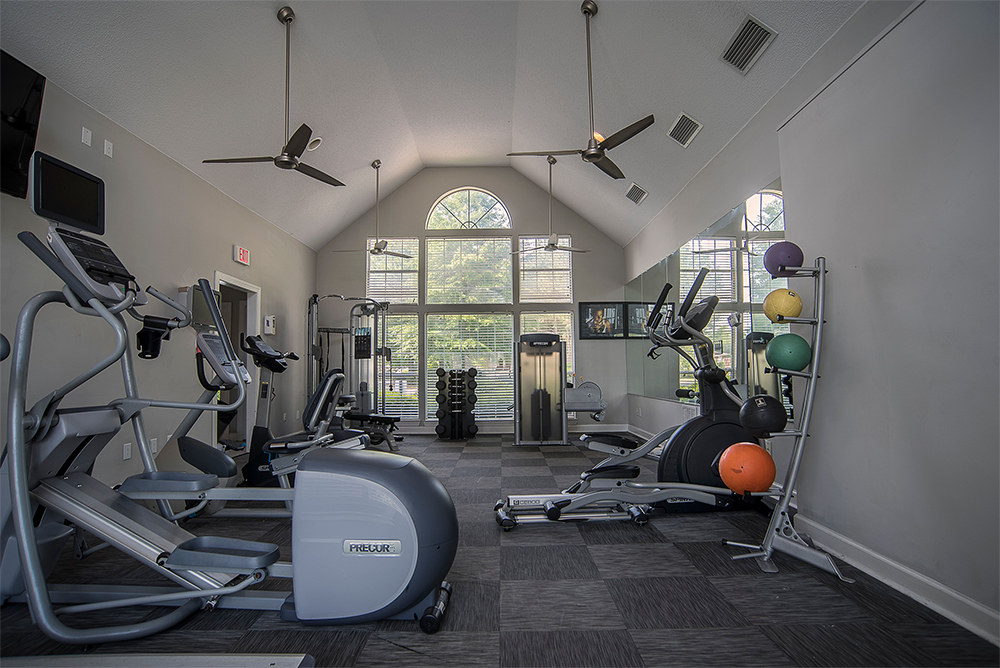 Our state-of-the-art fitness center