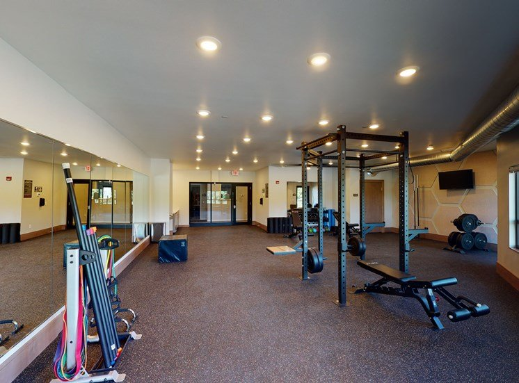 weight and yoga studio