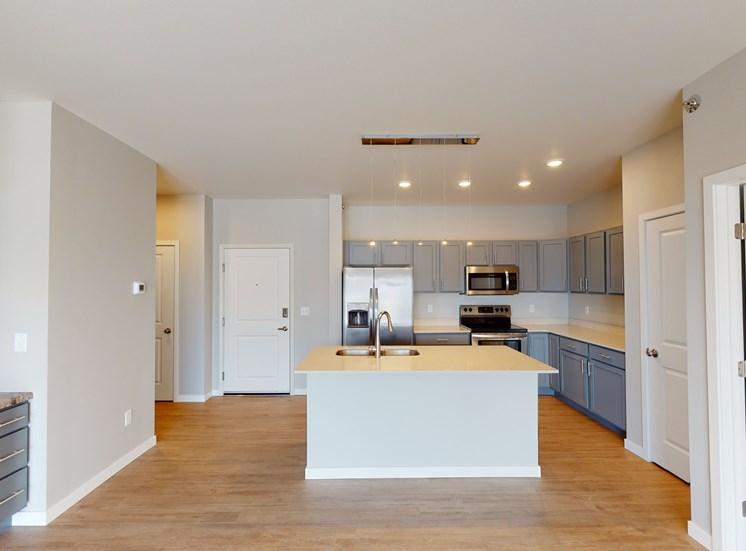 unfurnished apartment