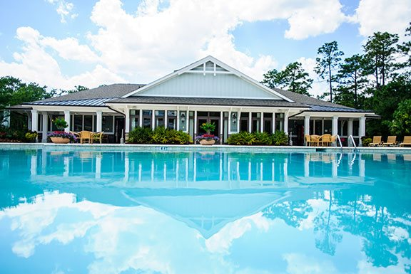 Pool and Clubhouse at The Reserve at Mayfaire, Wilmington, 28405