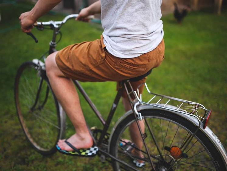 Hop on one of the local trails to head to Lowry Towne Center or even Downtown Denver.