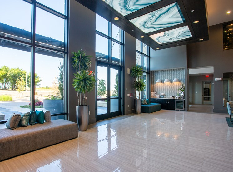 Lobby Area at Domain at The Gate, Frisco, Texas