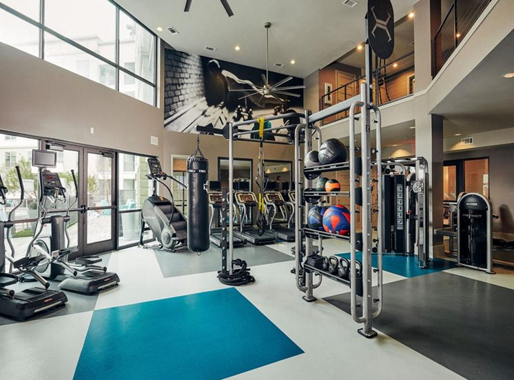 Two State-Of-The-Art Fitness Facility at Domain at The Gate, Frisco, Texas