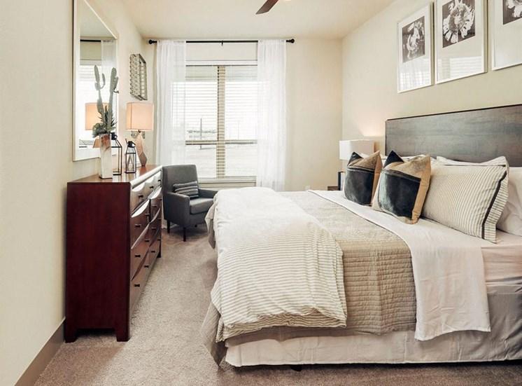 Bright Bedroom at Domain at The Gate, Frisco, TX, 75034